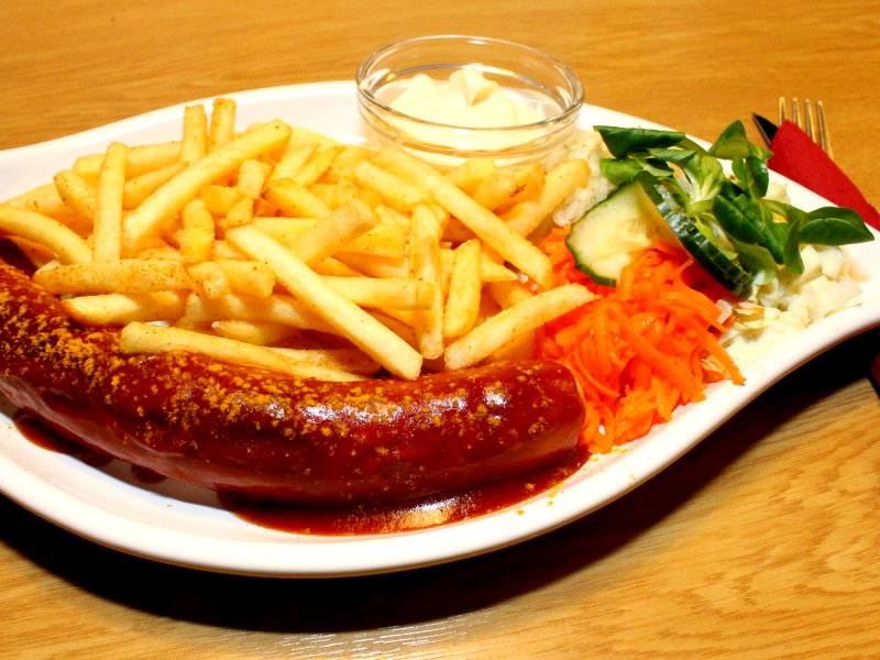 Currywurst&Pommes